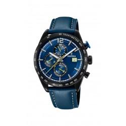 Festina F20344/2 Herren-Uhr Chronograph Sport Blau Ø 44 mm