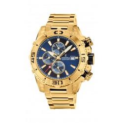 Festina F20492/2 Herren-Uhr Prestige Chronograph Quarz Edelstahl-Armband