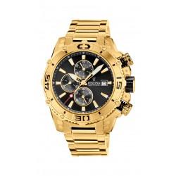 Festina F20492/4 Herren-Uhr Prestige Chronograph Quarz Edelstahl-Armband