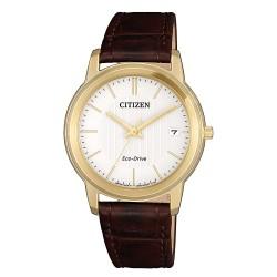 Citizen FE6012-11A Eco-Drive Sports Damen-Uhr Analog Quarz mit Leder-Band