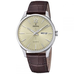 Festina F20205/1 Herrenuhr Retro Klassik Multifunktion Ø 41 mm