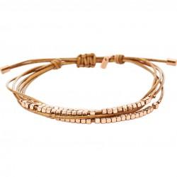 Fossil JA6422791 Damen Armband Dainty Rondel Slider