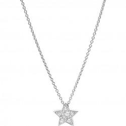 Fossil JFS00155040 Kette Anhänger Stern Star Sterling Silver