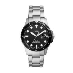 Fossil FS5652 Herren-Uhr FB-01 Analog Quarz mit Edelstahl-Band Ø 42 mm