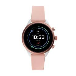 Fossil FTW6022 Smartwatch Damen Sport mit Silikon-Band Ø 41 mm