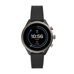 Fossil FTW6024 Smartwatch Damen Sport mit Silkon-Band Ø 41 mm