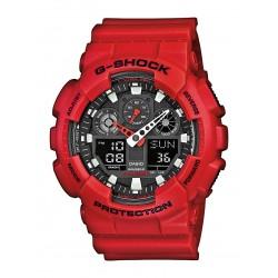 Casio GA-100B-4AER Herren-Uhr G-Shock Classic Chronograph Resin-Armband
