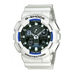 Casio GA-100B-7AER Herren-Uhr G-Shock Classic Chronograph Resin-Armband