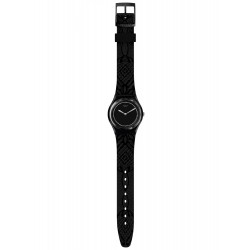 Swatch GB320 Armband-Uhr Dentelle Analog Quarz mit Silikon-Band