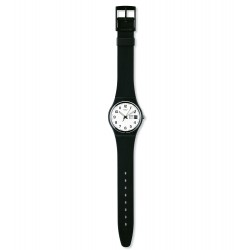 Swatch GB743 Armbanduhr Once Again Silikon Datum Ø 34 mm