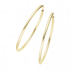 Karat 94032140 Ohrringe Creolen Damen Classic 375/- Gold Ø 32 mm