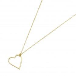 Karat 99046440450 Kette mit Anhänger Damen Herz 375/- Gelb-Gold