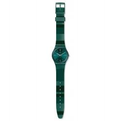 Swatch GG408 Armband-Uhr Cyberalda Analog Quarz Silikon-Armband