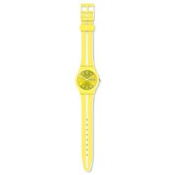 Swatch GJ702 Armbanduhr Lemoncello Quarz Silikon Armband Ø 34,00 mm
