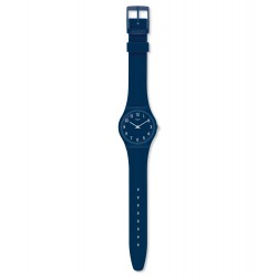 Swatch GN252 Armbanduhr Blueway Silikon Blau Ø 34 mm