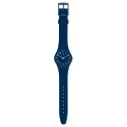 Swatch GN252 Armbanduhr Blueway Silikon Blau Ø 34 mm