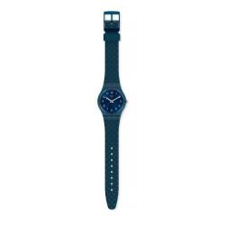 Swatch GN271 Armband-Uhr Bluenel Analog Quarz Silikon-Armband