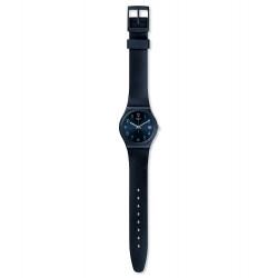 Swatch GN414 Armband-Uhr Naitbaya Analog Quarz mit Silikon-Band