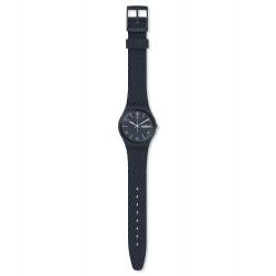 Swatch GN725 Armband-Uhr Laserata Analog Quarz mit Silikon-Band Ø 34,00 mm
