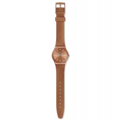 Swatch GO118 Armbanduhr Sandbaya Worldhood Orange Ø 34 mm