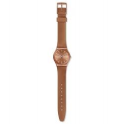 Swatch GO118 Armbanduhr Sandbaya Worldhood Orange Ø 34 mm