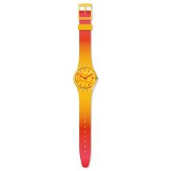 Swatch GO119 Armbanduhr Coeur De Mangue Quarz Silikon Armband Ø 34,00 mm