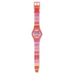 Swatch GP140 Armbanduhr Astilbe Classic Kunststoff Ø 34 mm