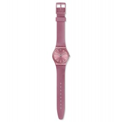 Swatch GP154 Armbanduhr Pastelbaya Worldhood Silikon Ø 34 mm