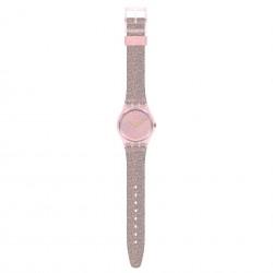Swatch GP168 Armband-Uhr Multilumino Analog Quarz Silikon-Armband