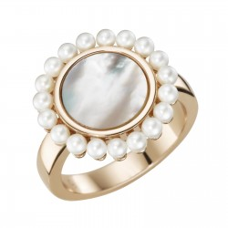 Giorgio Martello Milano 307809580 Ring Silber Rosé Vergoldet Gr. 58
