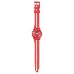 Swatch GR709 Armbanduhr Sanguinello Quarz Silikon Armband Ø 34,00 mm