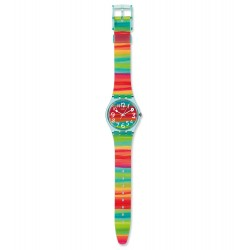 Swatch GS124 Armbanduhr Color The Sky Kunststoff Multicolor Ø 34 mm