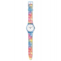Swatch GS159 Armbanduhr Bordujas Analog Quarz Silikon Armband Ø 34,00 mm
