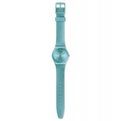 Swatch GS160 Armband-Uhr So Blue Analog Quarz mit Silikon-Band Ø 34,00 mm