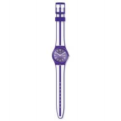 Swatch GV701 Armbanduhr Nuora Gelso Quarz Silikon Armband Ø 34,00 mm