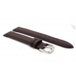 Beka & Bell Madras-Vegan Uhren-Armband Damen Ersatzband Braun 18 mm