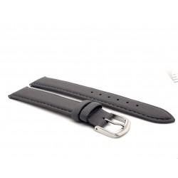 Beka & Bell Madras-Vegan Uhren-Armband Damen Ersatzband Grau 18 mm