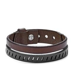 Fossil JA6927040 Armband Herren Vintage Casual Brown Leder