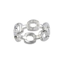 Fossil JF13584040 Ring Damen Sterling Silver Gr. 17 (53)