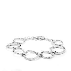 Fossil JF01145040 Armband Damen Twist Edelstahl Silber-Ton