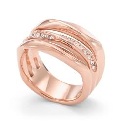 Fossil JF01321791 Damen-Ring Classic Twist Rosé-Ton