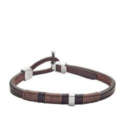 Fossil JF02929040 Armband Herren Vintage Casual Leder Braun