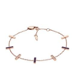 Fossil JF03030791 Armband Damen Vintage Glitz Edelstahl Rosé-Ton