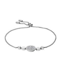 Fossil JF03223040 Armband Damen Mosaic Edelstahl Silber-Ton