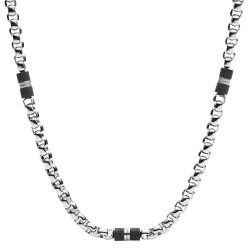Fossil JF03314040 Kette Herren Black Elements Edelstahl