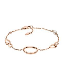 Fossil JF03347791 Armband Damen Vintage Links Edelstahl Roségold