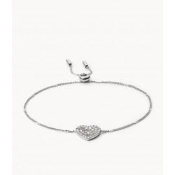 Fossil JF03414040 Armband Damen Herz Mosaic Heart Edelstahl