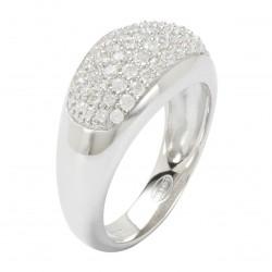 Fossil JF17953040 Ring Damen Sterling-Silber Zirkonia Gr. 18 (56)