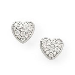 Fossil JFS00151040 Ohrstecker Herzen Heart Sterling-Silber