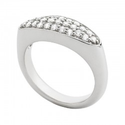 Fossil JFS00237040 Ring Damen Sterling-Silber Zirkonia Gr. 17 (53/54)